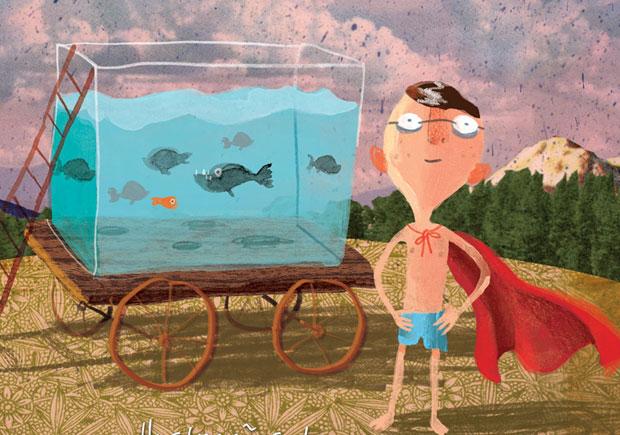o rapaz que nadava com as piranhas, editorial presença, david almond