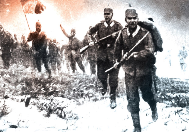 Catástrofe, Vogais, Max Hastings, Grande Guerra