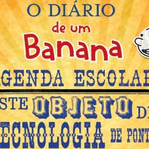 O Diário de um Banana: Agenda Escolar, Greg Heffley, Booksmile