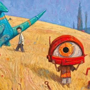 """«Nunca quebres as regras. Sobretudo se não compreendes.» É esta a máxima revelada por Shaun Tan que, em """"As regras do verão"""" (Kalandraka, 2014), nos conta a história de dois rapazes e de todas as normas e regrasque atravessam as suas brincadeiras e jogos durante aestação mais quente do ano. Shaun Tan, licenciado em Belas-Artes e em Literatura inglesa pela Universidade de Western da Austrália, trabalha actualmente como artista e autor em modo freelance na cidade de Melbourne. Participa igualmente em projectos de cenografia, arte conceptual e cinema de animação, tendo a sua paixão pela ilustração começado na infância,prolongando-se depois pela adolescência com osprimeiros livros a abraçarem ogénero fantástico. Género que, neste """"As regras do verão"""", está presente de corpo inteiro,paredes-meias com o surrealismo. Em 20 fascinantes quadros Tan apresenta-nosum mundo feito de regras, impostas como convenções aos mais pequenos - muitas delas estendendo-se depois à idade adulta -, que fazem com que olhemos o mundo como um lugar onde para alcançar a felicidade é necessário obedecer, mesmo que na maior parte dasvezes as lições de vida que daí advenham pareçam pura parvoíce ou simples crendice popular.Taiscomo nunca deixar uma meia vermelha pendurada na corda da roupa, nunca comer a última azeitona numa festa ou nunca perguntar porquê. As ilustrações de Shaun Tan são de cortar a respiração - livro recomendado a partir dos 8 anos – e, nelas,navegamos entre o medo dos monstros e a beleza de um céu estrelado, a chegada de um tsunami e um desfile carnivalesco, entrando num negro submarino que nos irá levar, depois de uma grande e perigosa caminhada,de regresso a casa.Afinal de contas, que seria do mundo - e de nós próprios -se não esquecessemos umas regras de tempos a tempos em nome do imaginário? Uma aventura visual extraordinária."""
