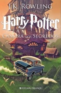Harry Potter, Editorial Presença, Harry Potter e a câmara dos segredos, J. K. Rowling