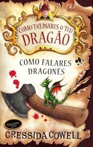 Como treinares o teu dragão, Bertrand Editora, Como falares dragonês, Cressida Cowell