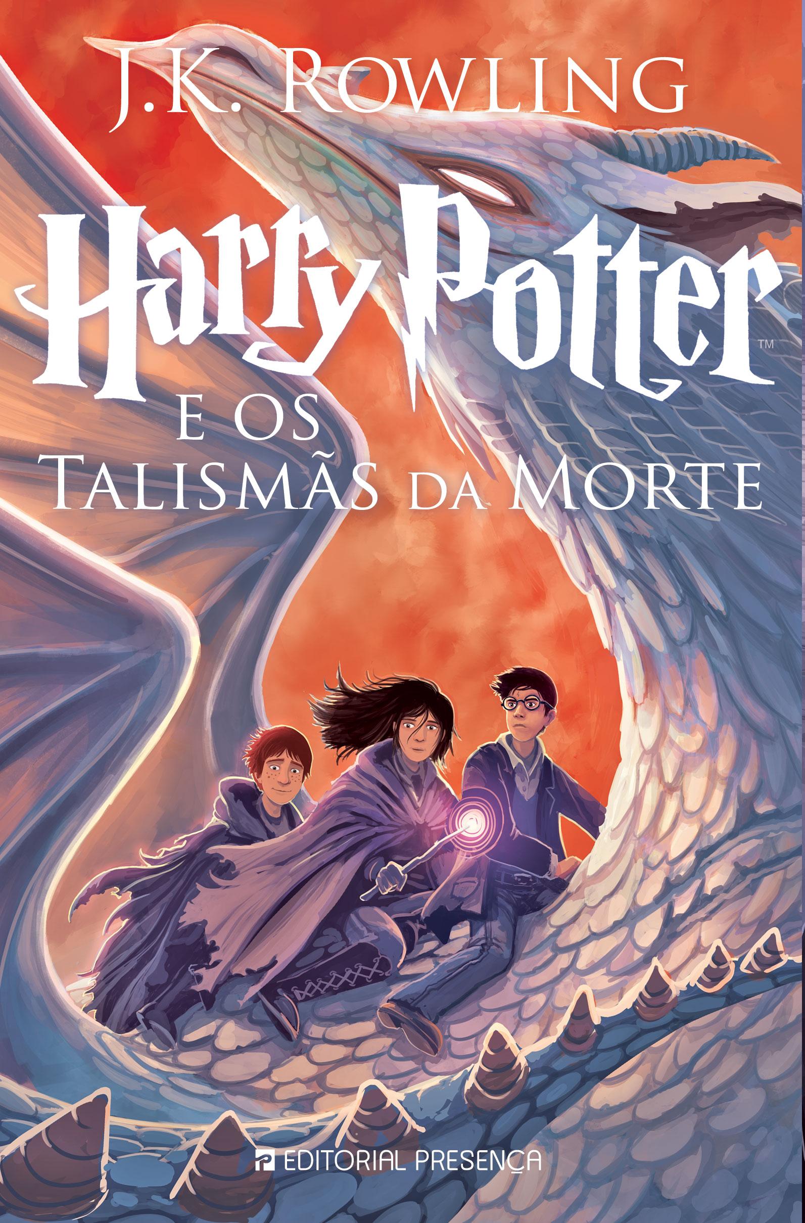 """""""Harry Potter e os talismãs da morte""""   J. K. Rowling"""