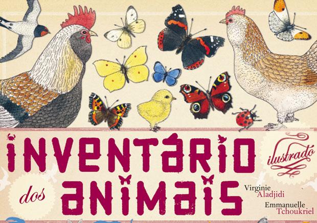 Kalandraka, Inventário ilustrado dos animais, Virginie Aladjidi, Emmanuelle Tchoukriel
