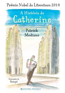 A história de Catherine, Editorial Presença, Patrick Modiano