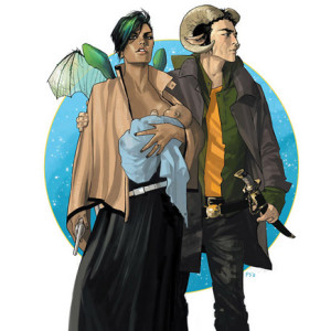 Saga, Image Comics, G. Floy, Brian K. Vaughan, Fiona Staples