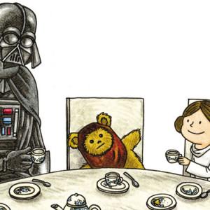 Darth Vader e filho, Darth Vader e a sua princezinha, Planeta, Jeffrey Brown