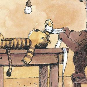 Eu ponho-te bom disse o urso, Kalandraka, Janosh