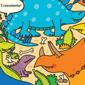 Na Terra dos Dinossauros, Círculo de Leitores, Simon Abbott