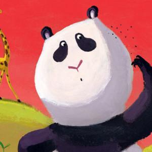 Hervé Le Goff, Christine Beigel, O Panda que tinha piolhos, A Zebra que não queria ir à escola, Editorial Presença, As Histórias da Mãe Galinha