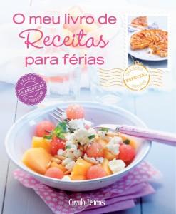 O meu livro de Receitas para férias, Círculo de Leitores, Corinne Jausserand