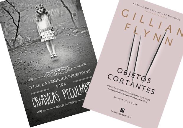 Objectos Cortantes, Objetos Cortantes, O Lar da Sehora Peregrine para Crianças Peculiares, Gillian Flynn, Ramsom Riggs