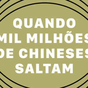 Quando Mil Milhões de Chineses Saltam, Livros de Bordo, Jonathan Watts