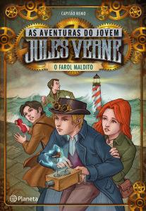 As aventuras do jovem Jules Verne, Planeta, A ilha perdida, O farol maldito, Capitão Nemo