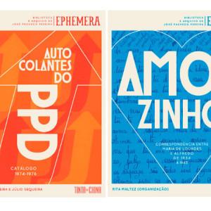 Ephemera, José Pacheco Pereira, Tinta da China, Amorzinho, Autocolantes do PPD