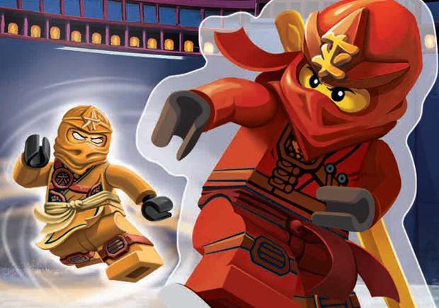Lego Ninjago, Deus Me Livro
