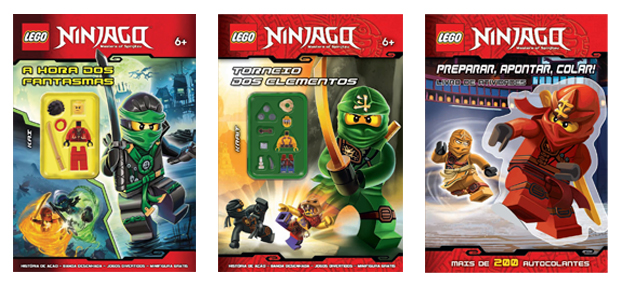 Lego Ninjago, Booksmile, Deus Me Livro