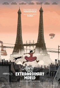 Abril e o Mundo Extraordinário,Monstra – Festival de Animação de Lisboa,Christian Desmares, Franck Ekinci, Deus Me Livro