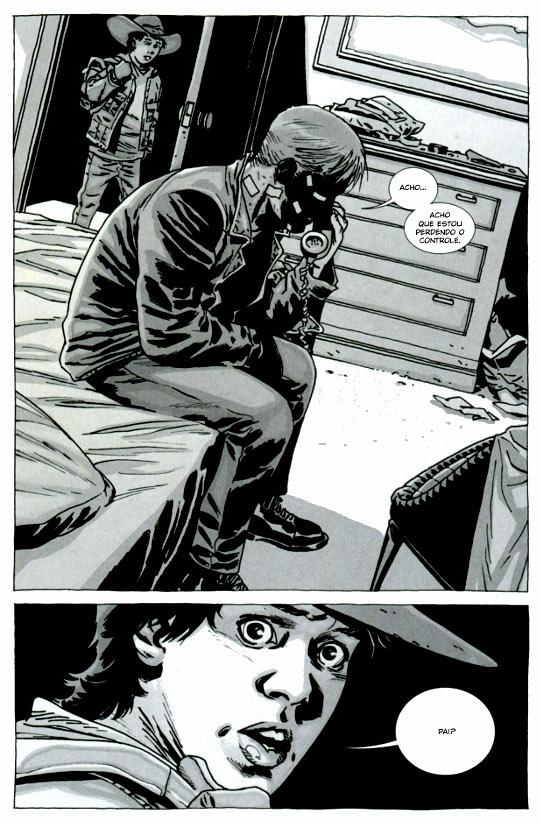 The Walking Dead, Longe Demais, Robert Kirkman, Devir, Charlie Adlard, Deus Me Livro