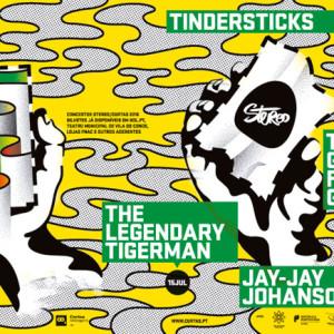 Curtas Vila de Conde – Festival Internacional de Cinema, Tindersticks, Jay-Jay Johanson, The Legendary Tigerman, The Greg Foat Group, Deus Me Livro