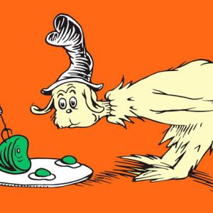 O Gato do Chapéu, Ovos verdes e presunto, Booksmile, Dr. Seuss, Deus Me Livro