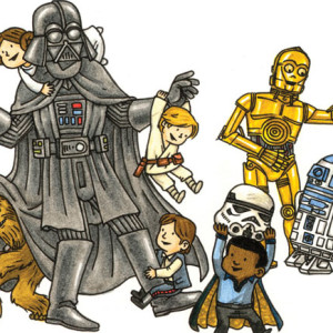 Darth Vader e amigos, Planeta, Deus Me Livro, Jeffrey Brown