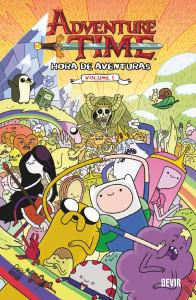 Hora de Aventuras, Deus Me Livro, Hora de Aventuras - volume 1, Ryan North, Shelli Paroline, Braden Lamb