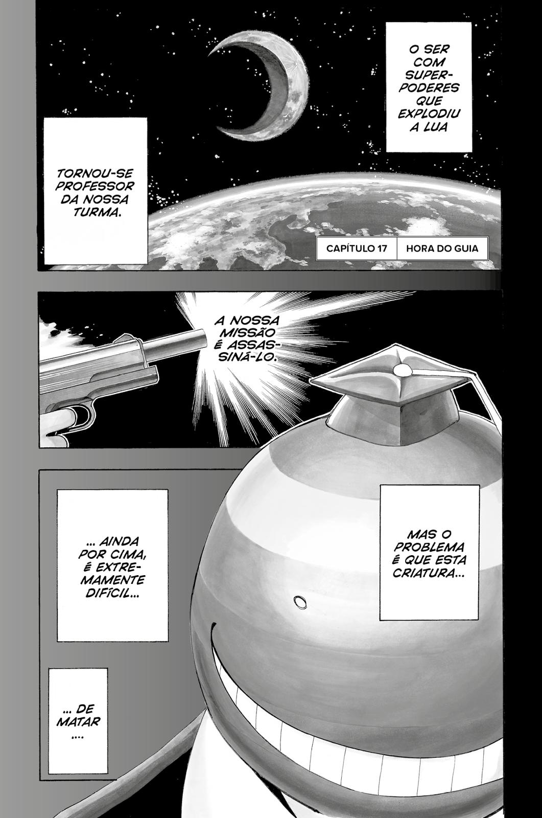 Assassination Classroom 3, Devir, Deus Me Livro, Yusei Matsui