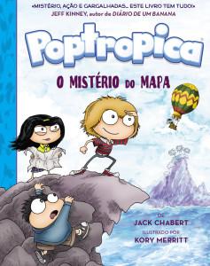 Poptropica: O Mistério do Mapa, Jack Chabert, Nuvem de Letras, Deus Me Livro, Kory Merritt