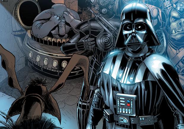 Star Wars Darth Vader, Star Wars Darth Vader - 1, Planeta, Deus Me Livro, Gillen, Larroca, Delgado