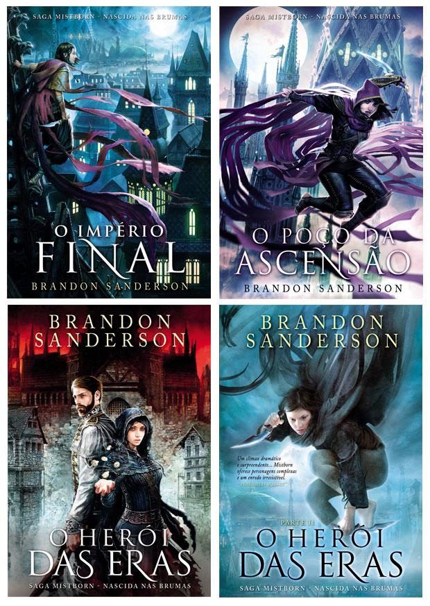 MistbornBrandon Sanderson, Saída de Emergência, Deus Me Livro, Mistborn, Nascida nas Brumas