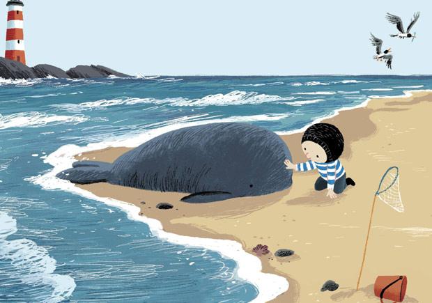 A baleia, Benji Davies, Orfeu Negro, Deus Me Livro