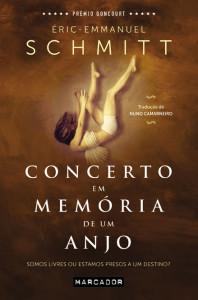 Concerto em Memória de um Anjo, Marcador, Deus Me Livro, Éric-Emmanuel Schmitt