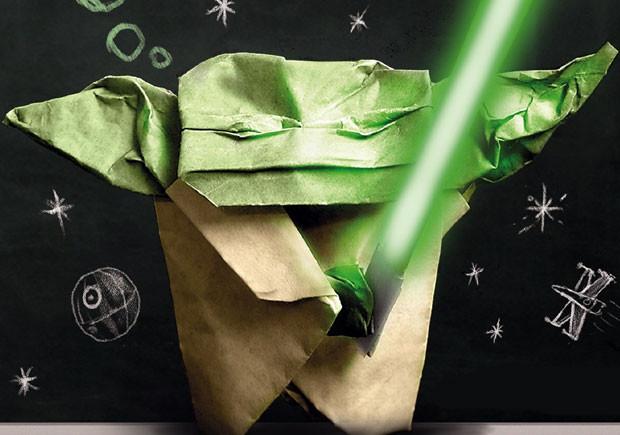 Booksmile, O Estranho Caso do Yoda de Origami, Deus Me Livro, Passatempo