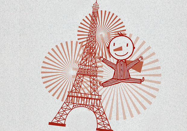 Paris em Pijamarama, Deus Me Livro, Michael Leblond, Kalandraka, Frédérique Bertrand