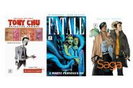 G. Floy, Deus Me Livro, Passatempo, Saga, Tony Chu, Fatale