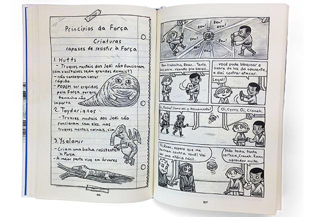 Star Wars, Academia Jedi, Planeta, Deus Me Livro, Jeffrey Brown