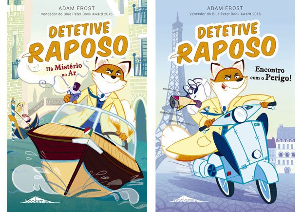 Detective Raposo, Deus Me Livro, Booksmile, Encontro com o Perigo!, Há Mistério no Ar, Booksmile, Adam Frost