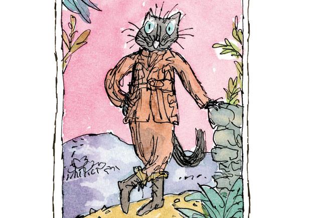 A História da Gata das Botas, Beatrix Potter, Asa, Deus Me Livro, Quentin Blake
