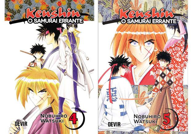 Kenshin, Deus Me Livro