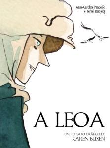 A Leoa, Um Retrato Gráfico de Karen Blixen, Anne-Caroline Pandolfo, G. Floy, Deus Me Livro, Terkel Risbjerg
