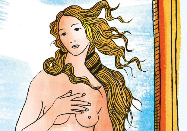 Porque tem a Arte tanta gente nua?, Bizâncio, Deus Me Livro, Susie Hodge
