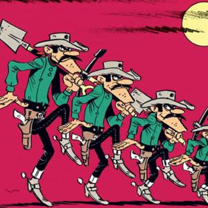 Lucky Luke, O Tesouro dos Dalton, Morris, Deus Me Livro, Asa, Vicq