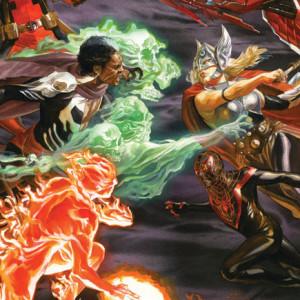 Os Vingadores, Deus Me Livro, Goody, Duggan, Stegman, Waid, Kubert, Spencer, Acuña
