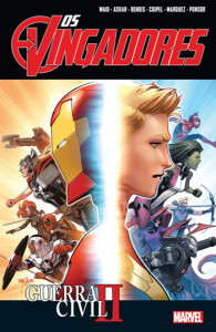Os Vingadores, Os Vingadores 6, Guerra Civil II, Waid, Asrar, Bendis, Coipel, Marquez, Ponsor