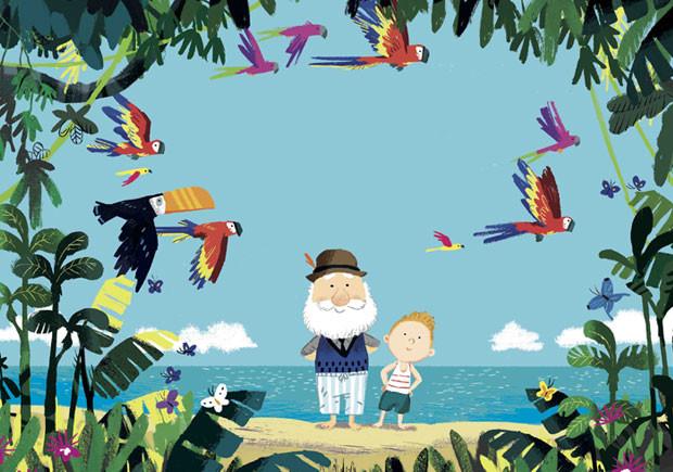 A Ilha do Avô, Orfeu Negro, Deus Me Livro, Benji Davies