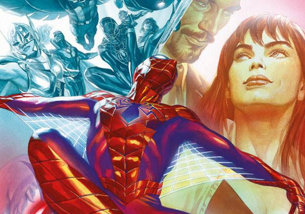 Homem-Aranha 7, Homem-Aranha, Goody, Deus Me Livro, A União Faz a Força, Guerra Civil II, Slott, Camuncoli, Bendis, Leon, Gracia