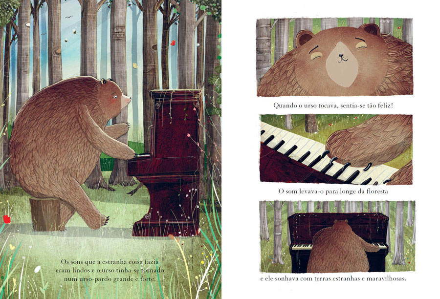 O Urso e o Piano, Booksmile, Deus Me Livro, David Litchfield