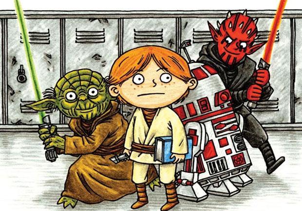 Star Wars Academia Jedi, Planeta, Deus Me Livro, Jeffrey Brown