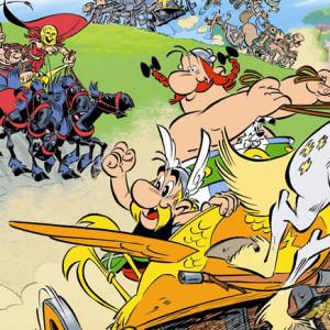 Astérix e a Transitálica, Deus Me Livro, Asa, Jean-Yves Ferri, Didier Conrad, Goscinny, Uderzo
